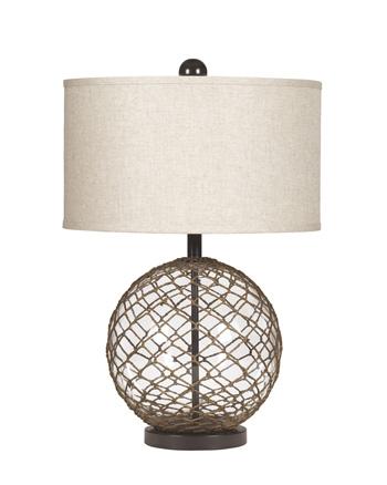 Ashley L439564 Glass Table Lamp (2/CN)