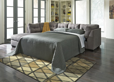 Maier Left Chaise Sleeper Sectional great value, great price.