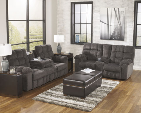 Acieona Reclining Sofa and Loveseat great value, great price.