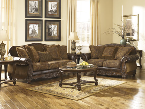 Fresco DuraBlend® Sofa and Loveseat great value, great price.