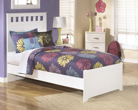 Lulu Twin Panel Bed great value, great price.