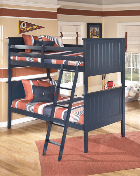 Leo Twin/Twin Bunk Bed great value, great price.