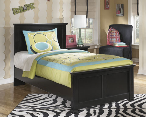 Maribel Twin Panel Bed great value, great price.