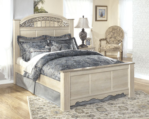Catalina Queen Poster Bed great value, great price.