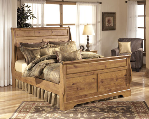 Bittersweet Queen Sleigh Bed great value, great price.