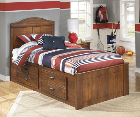 Barchan Twin Panel Storage Bed great value, great price.