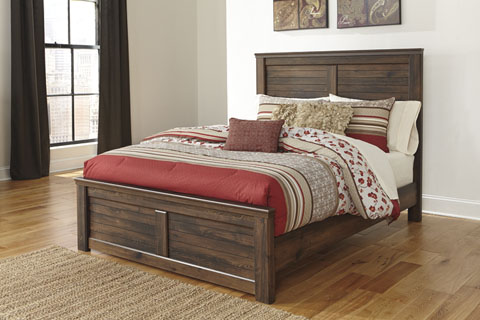 Quinden Queen Panel Bed great value, great price.