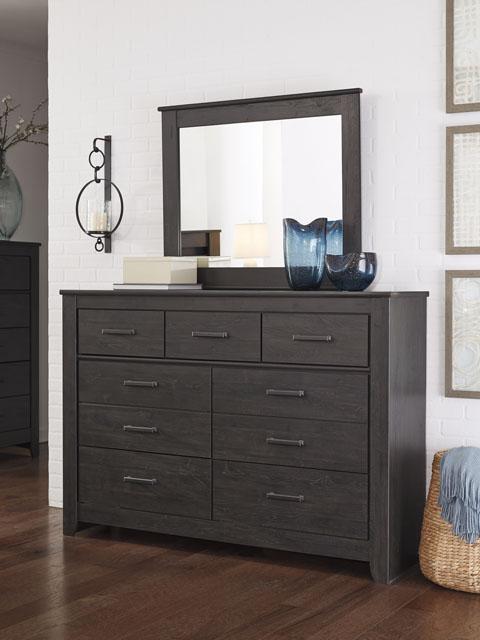 Brinxton Dresser and Mirror great value, great price.
