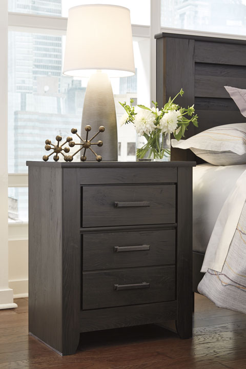 Brinxton Two Drawer Night Stand great value, great price.