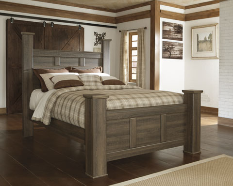 Jena Queen Poster Bed great value, great price.