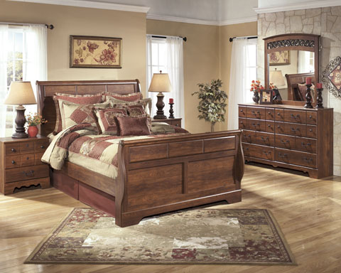 Timberline Queen Sleigh Bed great value, great price.