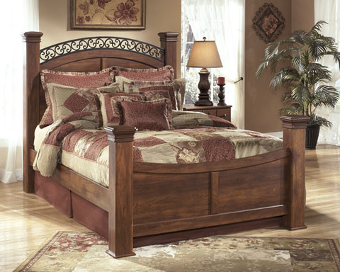 Timberline Queen Poster Bed great value, great price.