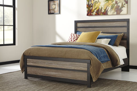 Harrison Queen Panel Bed great value, great price.