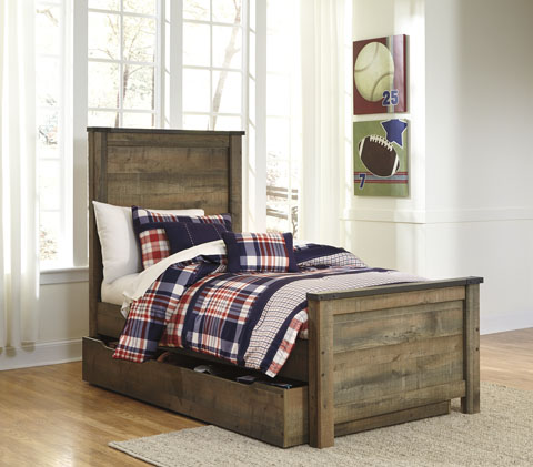 Trenton Twin Panel Trundle Bed great value, great price.