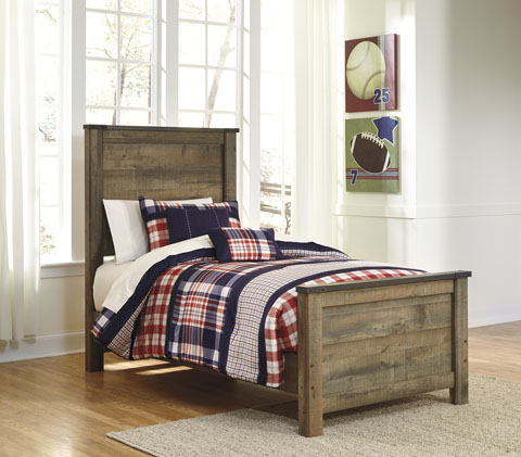 Trenton Twin Panel Bed great value, great price.