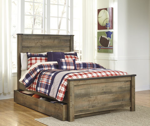 Trenton Full Panel Trundle Bed great value, great price.