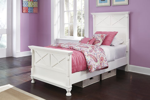 Kaslyn Twin Panel Bed great value, great price.