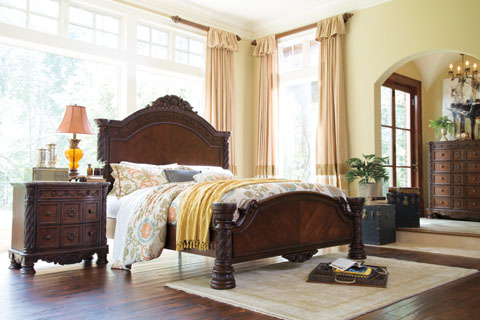 North Shore Queen Panel Bed great value, great price.