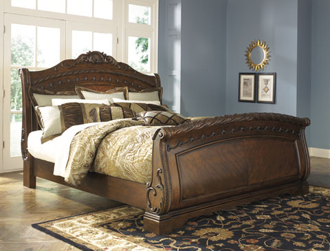North Shore Queen Sleigh Bed great value, great price.
