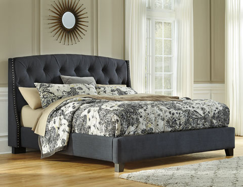 Kasidon Queen Upholstered Bed great value, great price.