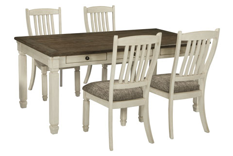 Beverly Rectangular Table With 4 Chairs great value, great price.