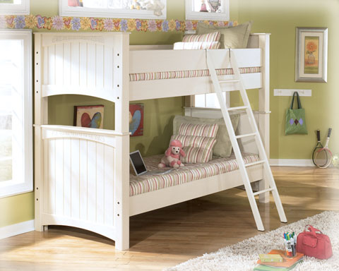 Full Sleigh Bed B213 Cottage Retreat Ashley Furniture Ebay