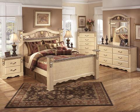 Sanibel Poster Bedroom Set By Ashley Furniture EBay
