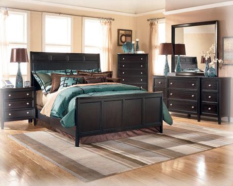 Ashley Carlyle 7 Piece Bedroom Set EBay