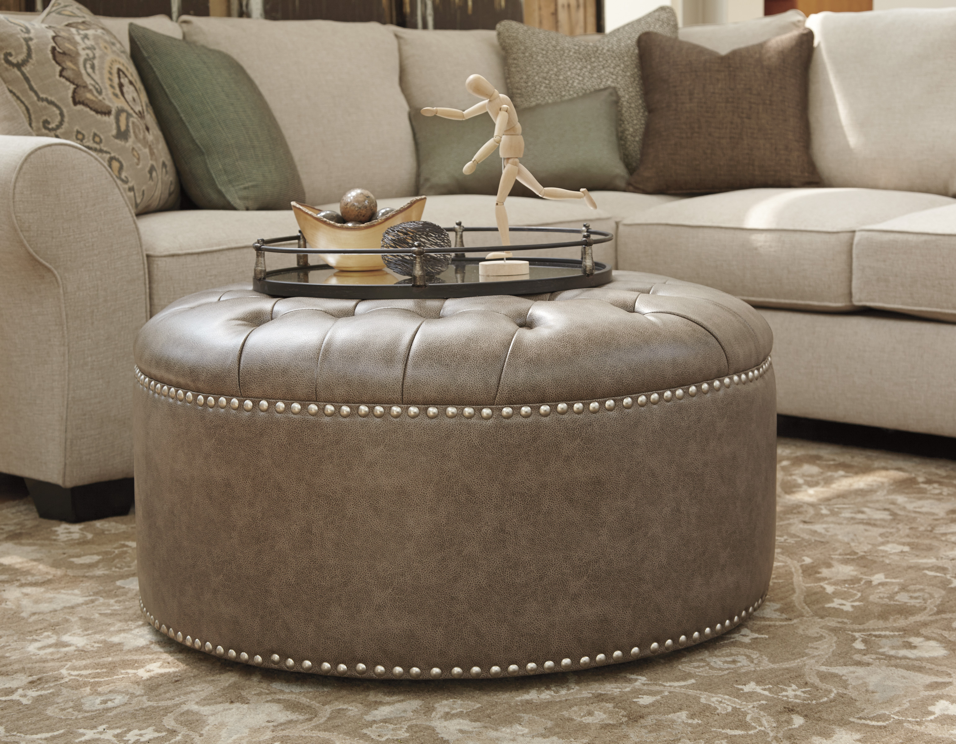 Furniture Extreme Calgary Wilcot Oversized Accent Ottoman