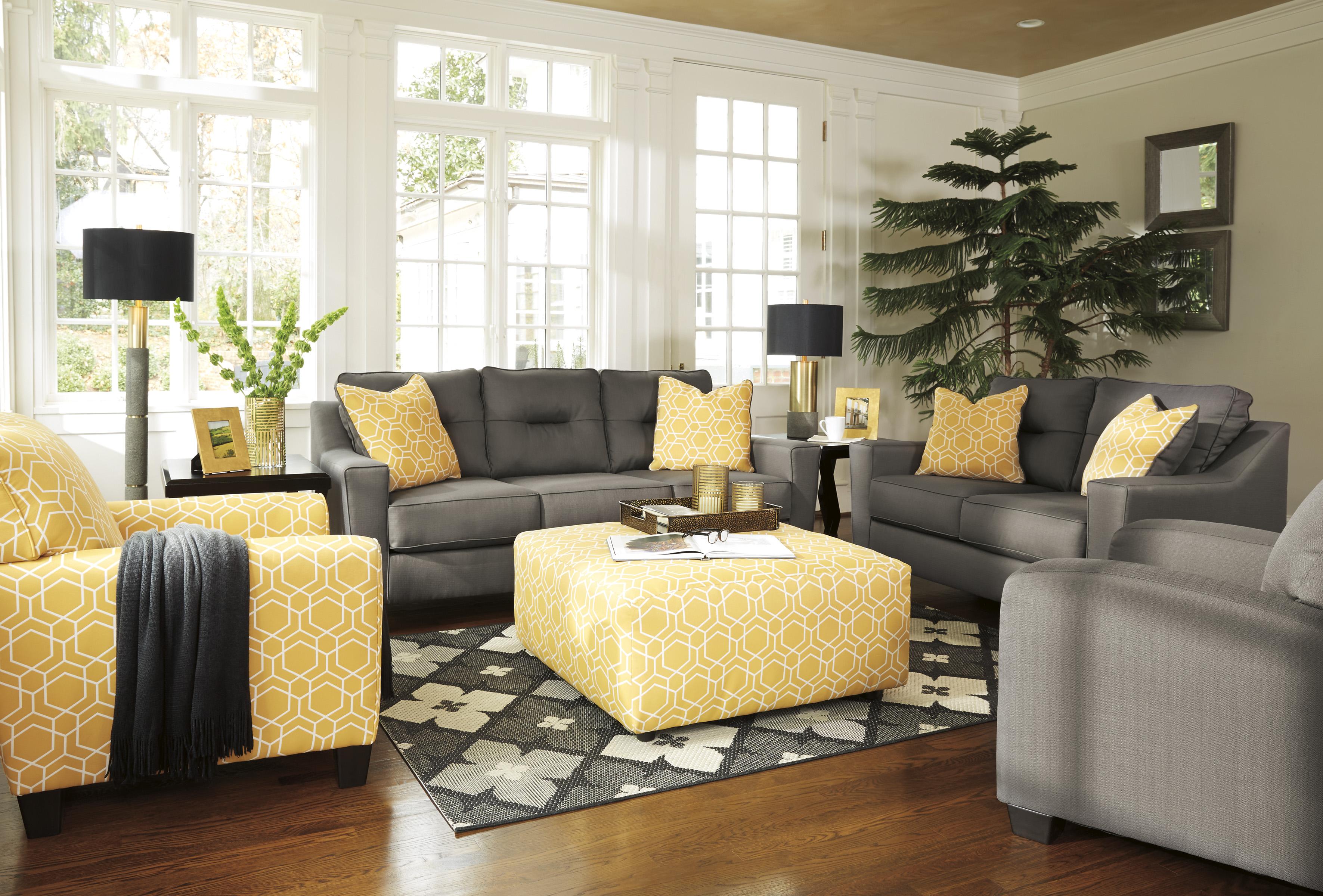 Living room sets all american mattress furniture - Sofa de cojines ...