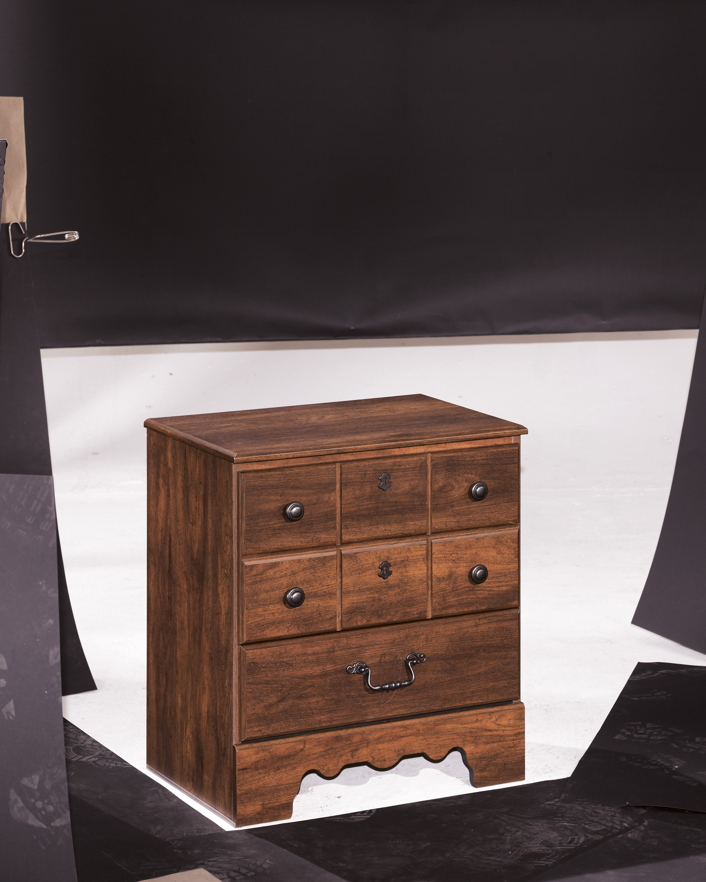 Furniture extreme calgary timberline two drawer night stand for Night stand cost