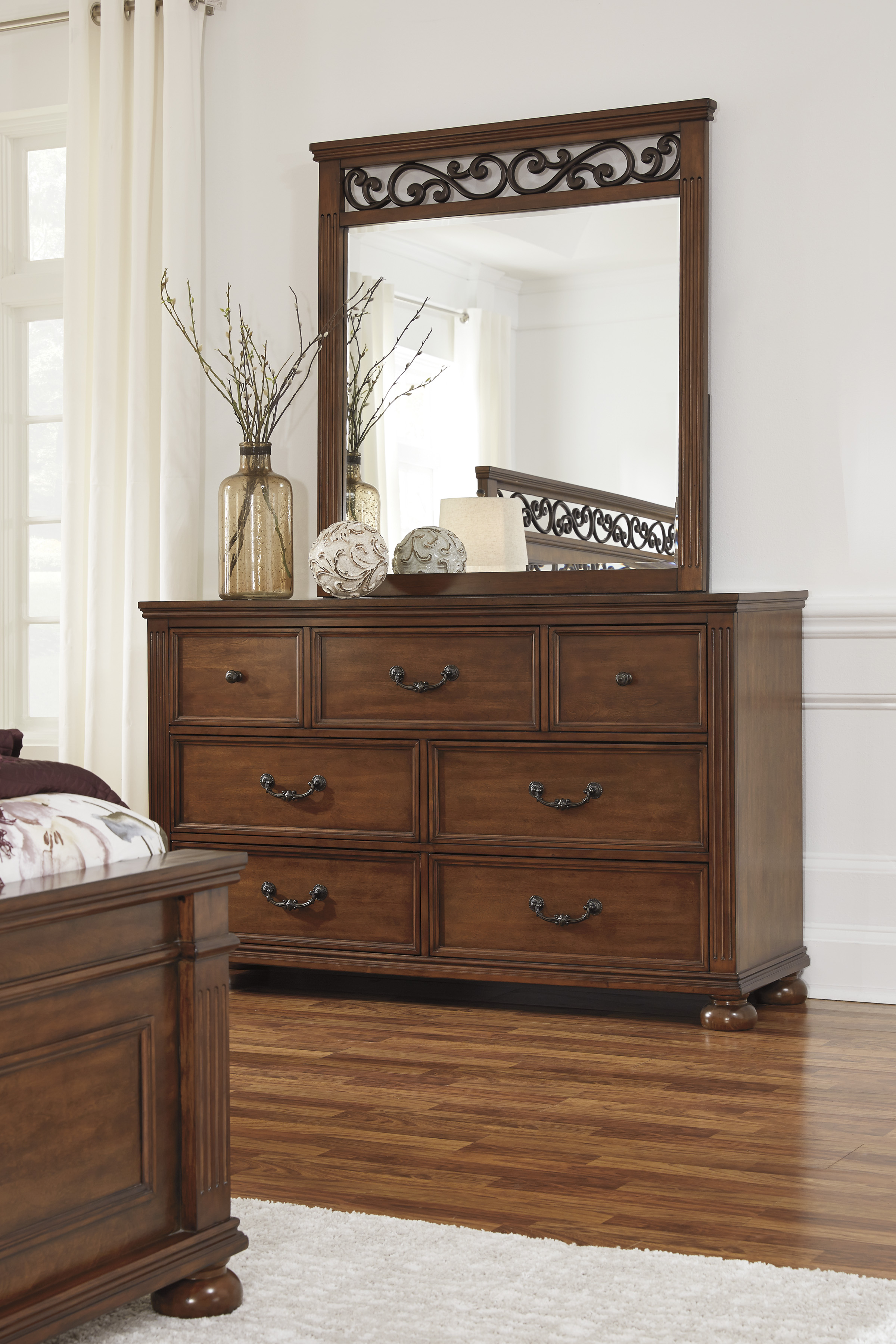 Furniture extreme calgary lazzene bedroom mirror for Good value bedroom furniture