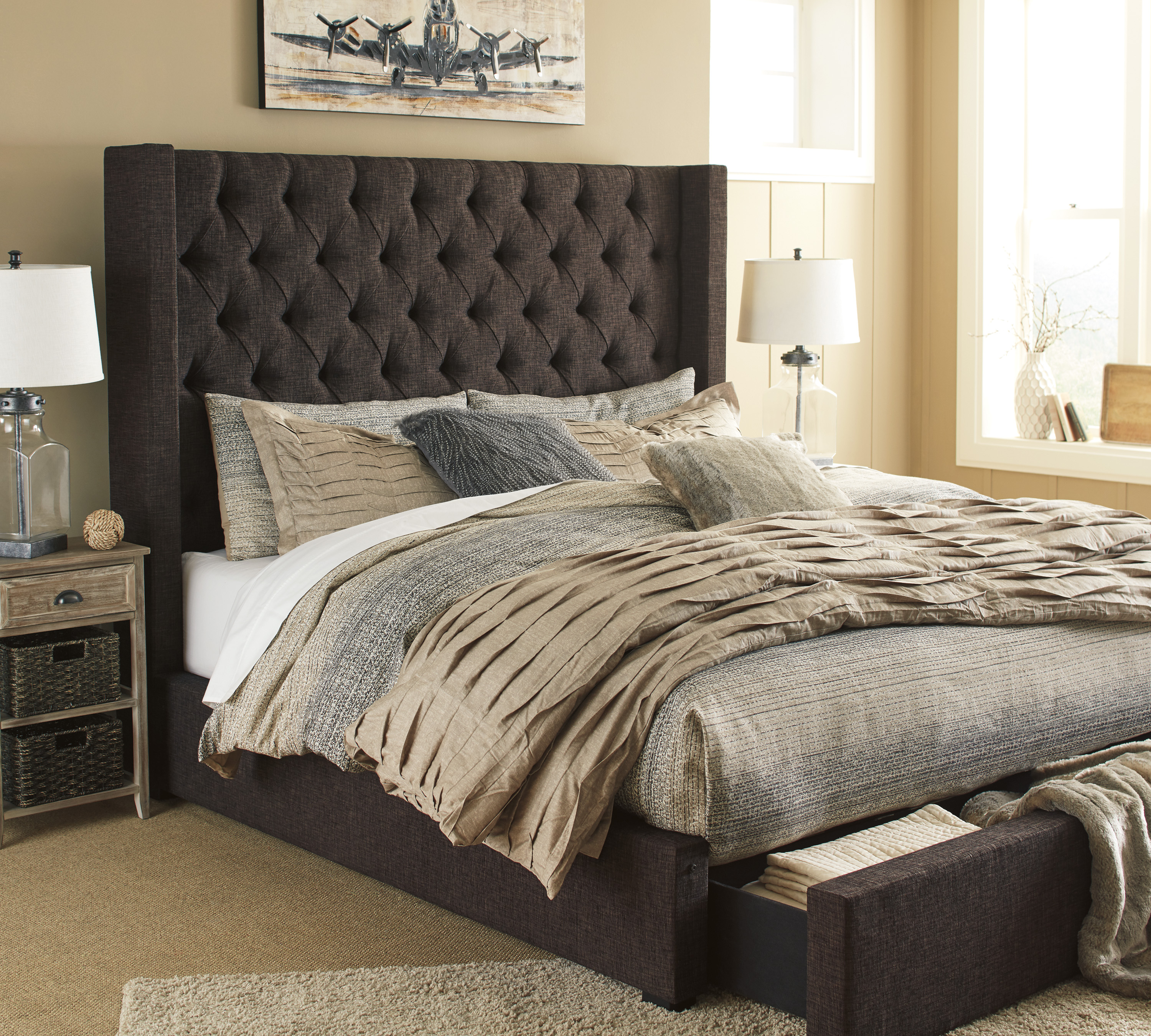Upholstered Beds All American Mattress Amp Furniture