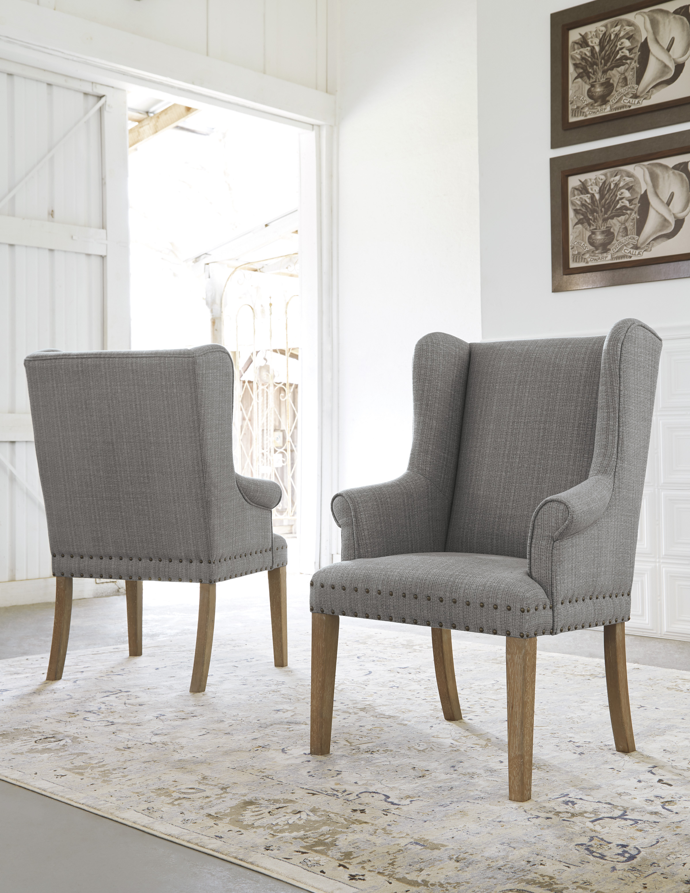 Furniture Extreme Calgary Ollesburg Dining Uph Arm Chair