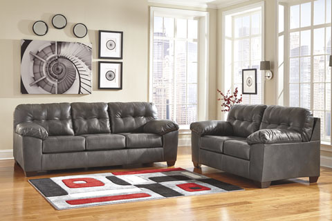 Alliston DuraBlend® Sofa and Loveseat great value, great price.