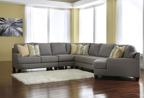 Chamberly Right Cuddler Extended Sectional great value, great price.