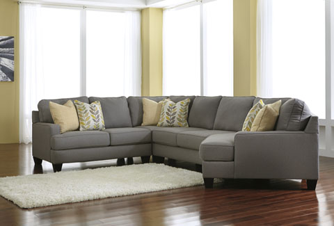 Chamberly Right Cuddler Sectional Great Value, Great Price.