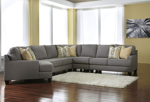 Chamberly Left Cuddler Extended Sectional great value, great price.