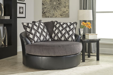 Kumasi Oversized Swivel Accent Chair great value, great price.