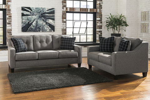 Brindon Sofa and Loveseat great value, great price.