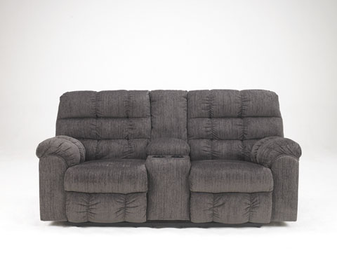 Acieona DBL Rec Loveseat w/Console great value, great price.