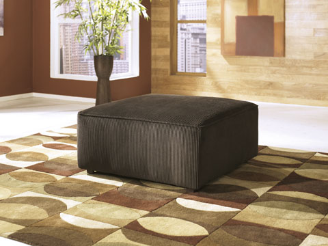 Vista Oversized Accent Ottoman great value, great price.