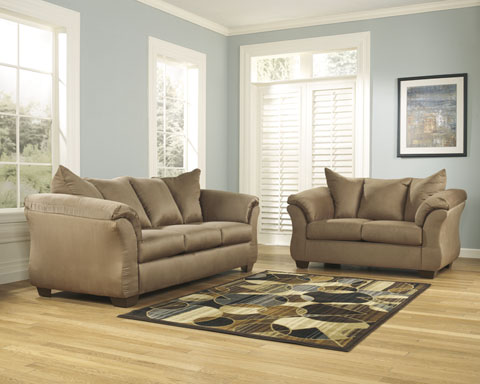 Darcy Sofa and Loveseat great value, great price.