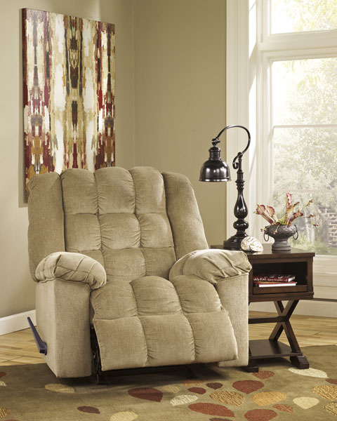 Ludden Rocker Recliner great value, great price.