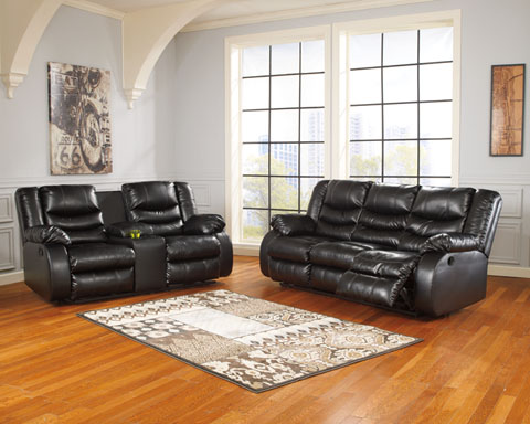 Linebacker DuraBlend® Reclining Sofa and Loveseat great value, great price.