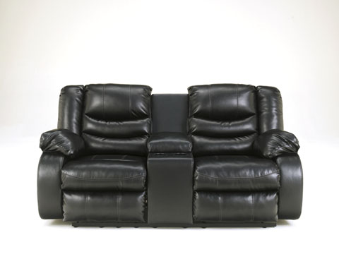 Linebacker DuraBlend® DBL Rec Loveseat w/Console great value, great price.