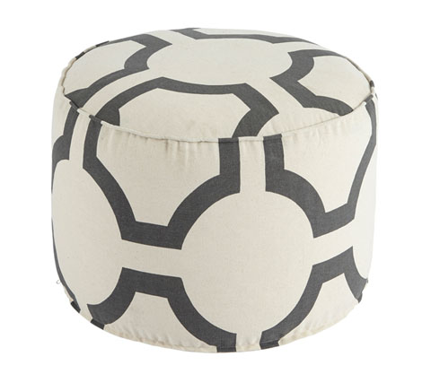 Geometric Pouf great value, great price.