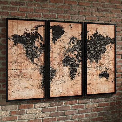 Pollyanna Wall Art Set (3/CN) great value, great price.