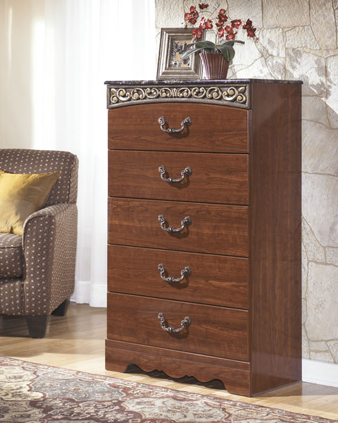 Fairbrooks Estate Five Drawer Chest great value, great price.