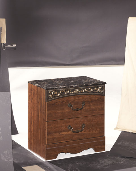 Fairbrooks Estate Two Drawer Night Stand great value, great price.